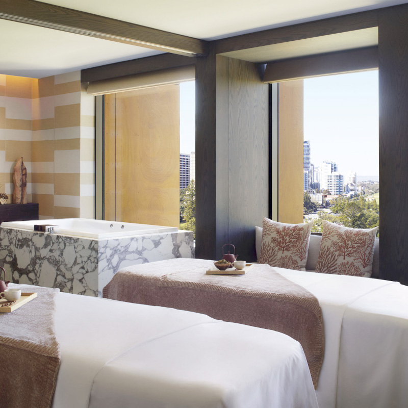 Spa vision delivers portfolio solution to Ritz-Carlton Spa, Perth