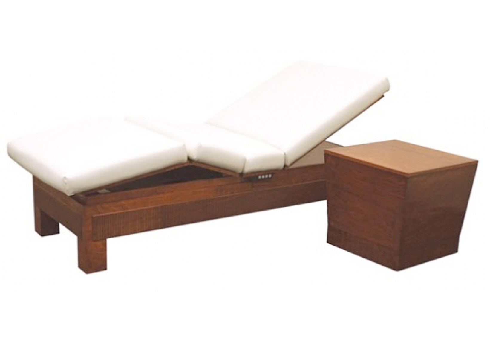 Spa lounge chair - Clodagh Relaxation Lounge Side Console