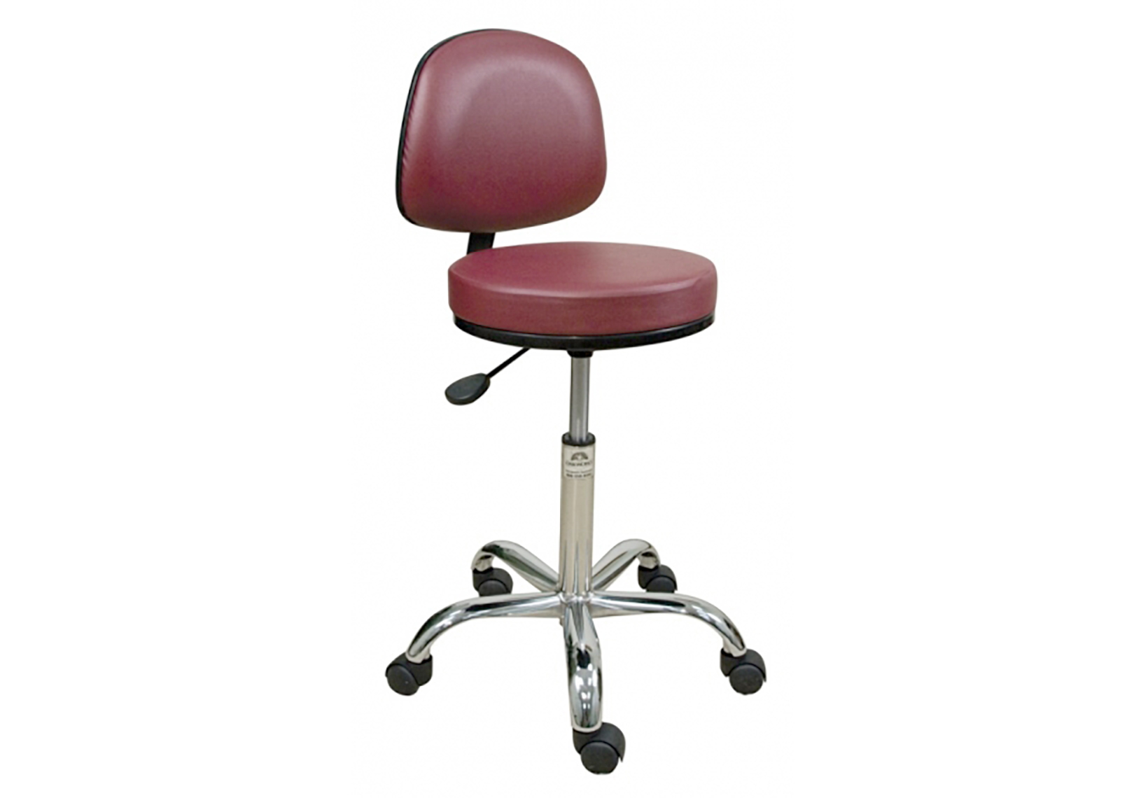 Professional Stool with Backrest