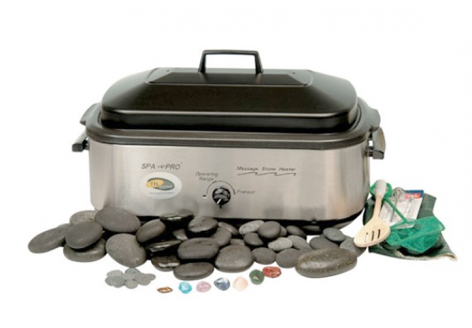 Deluxe Hot Stone Massage Pack
