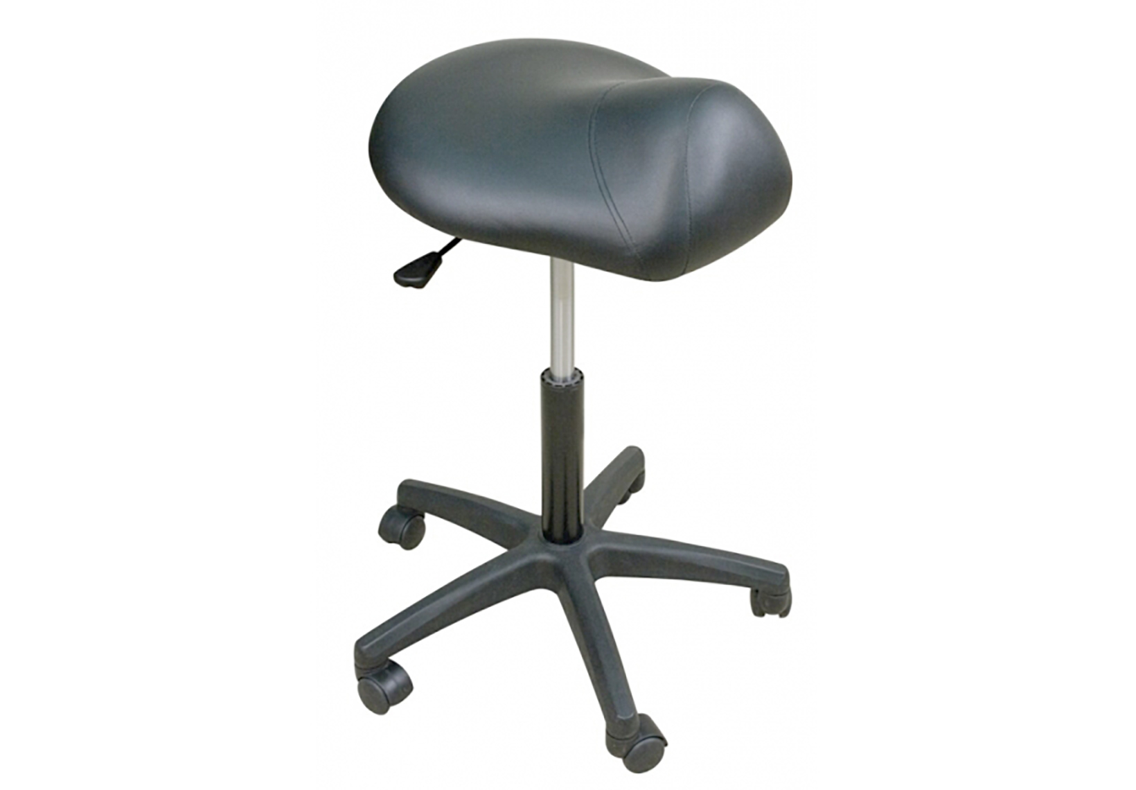 Premium Stool with Saddle Seat - High Height Range