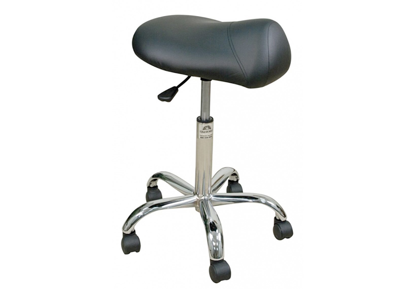 Professional Stool with Saddle Seat - High Height Range