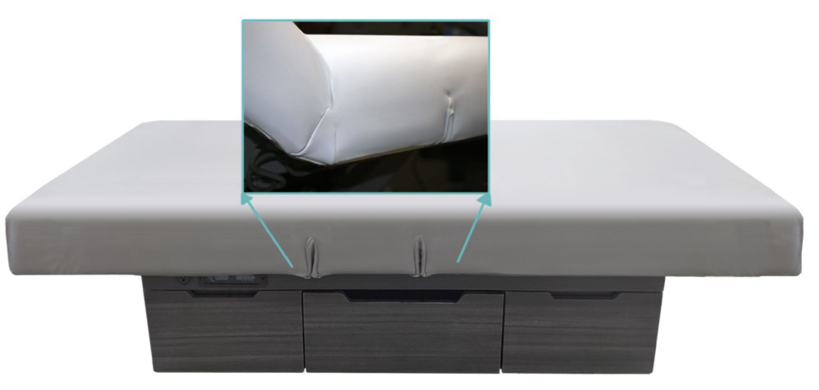 Flexa-Cover™ Protective Table Cover for Salon Tops